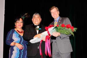 Governer McDonnell accepting an award at the 4th Annual Asian Chamber Gala