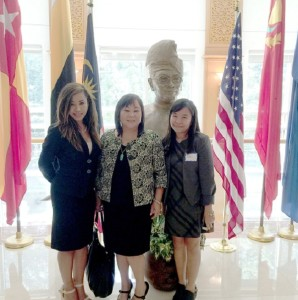 Trade Winds- with Malaysian Embassy Staff